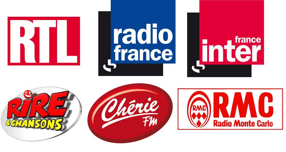 Radios pour lesquelles Hervé Pouchol a travaillé.